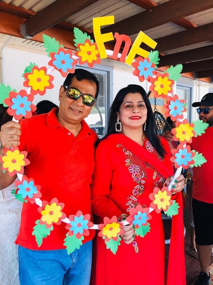 Badol bhai & Ruba apa
