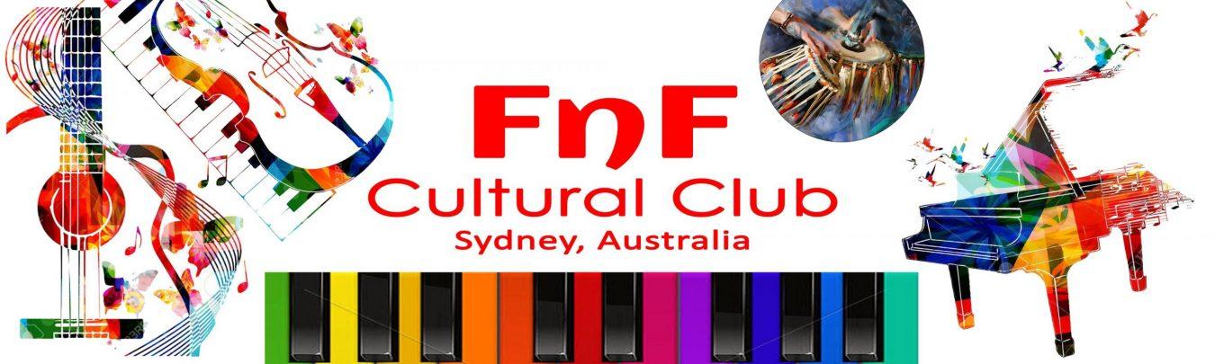 FnF Cultural Club Sydney - Banner
