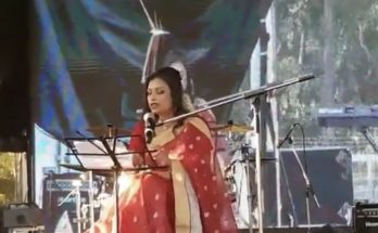 Boishakhe nijissho shongbad - Bengali poetry recitation by Nusrat Jahan Smriti