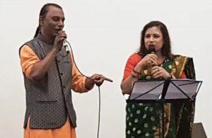 Kothopokothon - Bengali poetry recitation by Nusrat Jahan Smriti with Shimul Mustafa